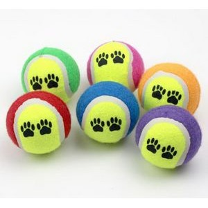 Dog Birthday Balls Dog Toy, Tennis ball for dogs