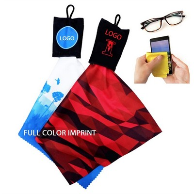Microfiber Cloth With Pouch