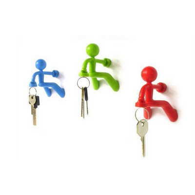 Human Shaped Magnetic Key Holder/ Magnetic Fridge Man